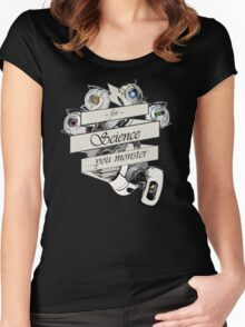 For Science Women's Fitted Scoop T-Shirt