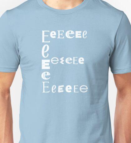 Found Letters - E Unisex T-Shirt