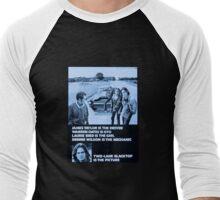 Two-Lane Blacktop Men's Baseball ¾ T-Shirt