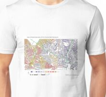 Multiple Deprivation Thornton ward, Wandsworth Unisex T-Shirt