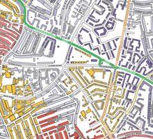Multiple Deprivation Thornton ward, Wandsworth Sticker