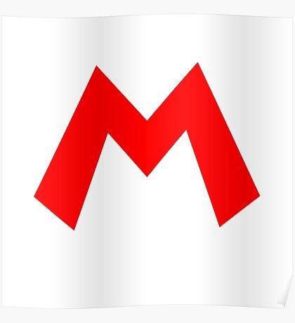 Mario Emblem Poster
