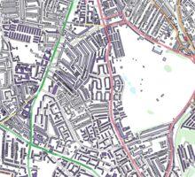 Multiple Deprivation Tulse Hill ward, Lambeth Sticker