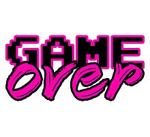 GAME OVER (Sexy) Photographic Print
