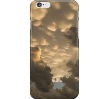 Furious Sky - Mammatus Clouds After a Storm iPhone Case/Skin