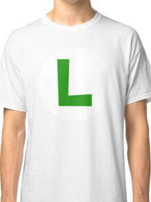 Luigi Emblem Classic T-Shirt