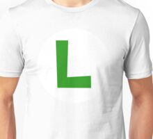 Luigi Emblem Unisex T-Shirt