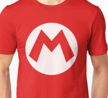 Mario Emblem (hollow) Unisex T-Shirt