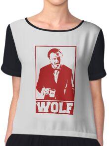 The wolf Chiffon Top