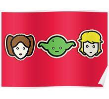 Minimalist Star Wars Poster