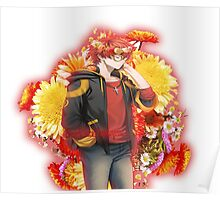 707 flower crown+quote  Poster