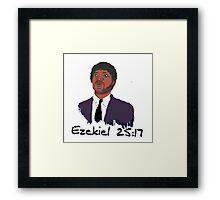 Ezekiel 25:17 Framed Print