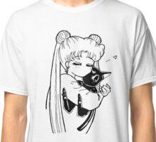Sailor Moon - Usagi & Luna Classic T-Shirt