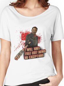 Negan Walking Dead Women's Relaxed Fit T-Shirt