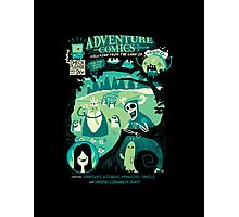 Adventure Comics Photographic Print