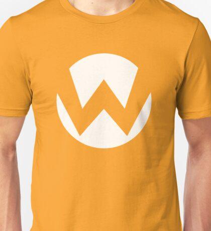 Wario Emblem (hollow) Unisex T-Shirt