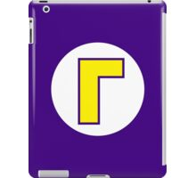Waluigi Emblem iPad Case/Skin