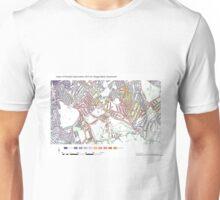Multiple Deprivation Village ward, Southwark Unisex T-Shirt
