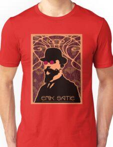 Erik Satie's Purple Dream Unisex T-Shirt