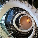 spiral staircase by lensbaby