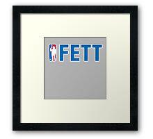 FETT : Inspire by Star Wars Framed Print