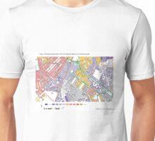 Multiple Deprivation Warwick ward, Westminster Unisex T-Shirt