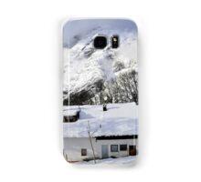 House under the mountain, Alps, Austria Samsung Galaxy Case/Skin