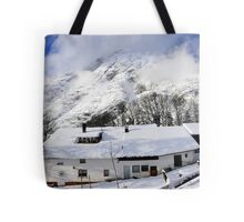 House under the mountain, Alps, Austria Tote Bag