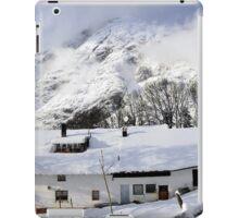 House under the mountain, Alps, Austria iPad Case/Skin