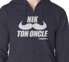 Nik Ton Oncle Version Blanche - Segpa Army Zipped Hoodie