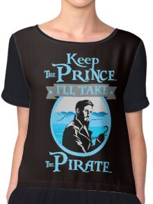 Captain Hook. OUAT. Keep The Prince, I'll Take The Pirate. Chiffon Top