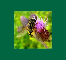 Hoverfly on Thistle Unisex T-Shirt