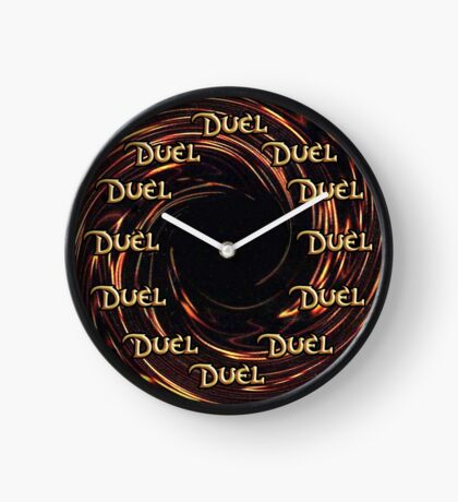Time to Duel Clock