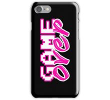 GAME OVER (Sexy) iPhone Case/Skin