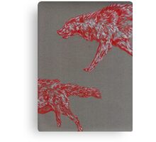 Wolf Hunt Canvas Print