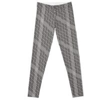 White stripes texture against a bright background. Abstract pattern of squares. Decorative ornament. Leggings