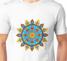 Sun & Tribal Feather Mandala Unisex T-Shirt