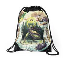 The Magician's Quest Drawstring Bag