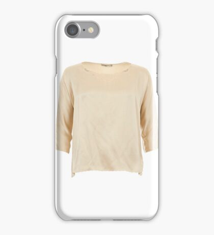 Theodora Silk Embroidered Top iPhone Case/Skin