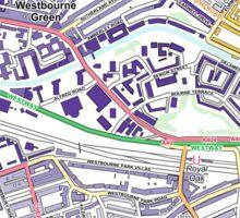 Multiple Deprivation Westbourne ward, Westminster Sticker