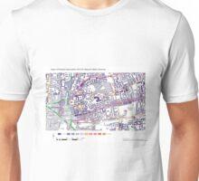 Multiple Deprivation Weavers ward, Hackney Unisex T-Shirt