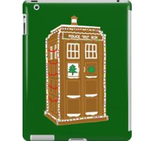 Gingerbread Tardis iPad Case/Skin