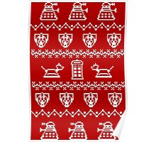 Timey Wimey Sweater Poster