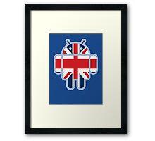 Britbot Framed Print