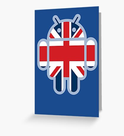 Britbot Greeting Card