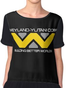 WEYLAND YUTANI ALIEN (2) Chiffon Top