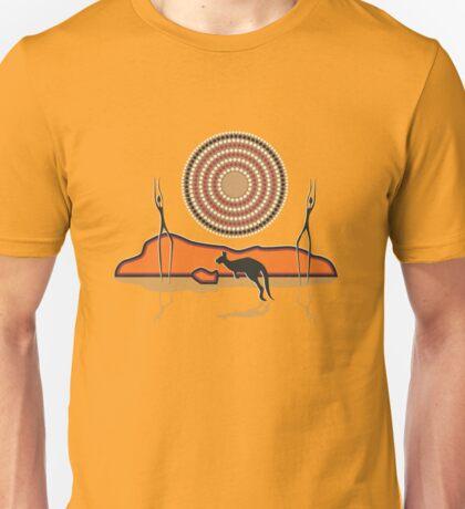 Aborigional Sunrise Unisex T-Shirt
