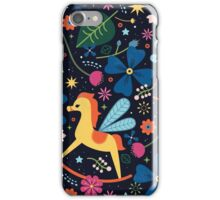 Rocking-Horse-Fly  iPhone Case/Skin