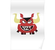 Monster Cartoon 02 Poster