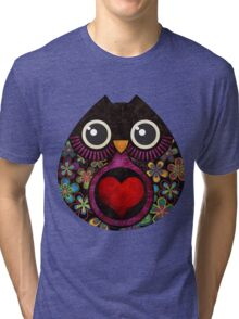 Owl's Hatch Tri-blend T-Shirt